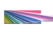 Bleche Aluminium - farbig
