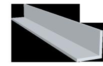 Eckschutzschienen Aluminium