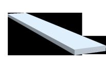 Flachstangen Aluminium eloxiert