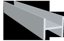 H-Profille Aluminium