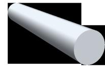 Rundstangen Aluminium