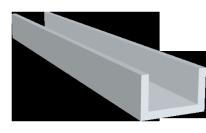 U-Profile Aluminium