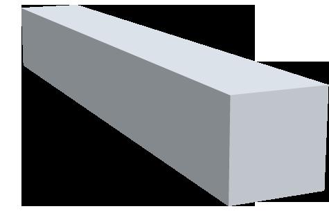 Vierkantstangen Automatenalu RoHS-konform