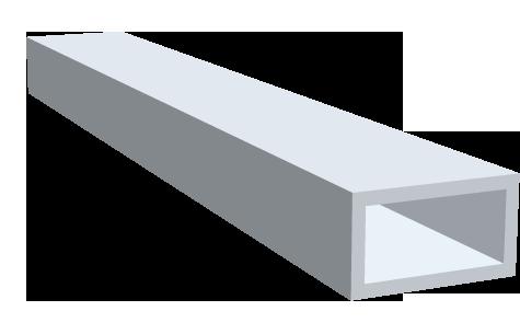 edelstahl flachkantrohre geschliffen gemmel metalle. Black Bedroom Furniture Sets. Home Design Ideas