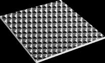 Waffelmuster/Pyramide