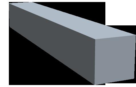 Vierkant bleifrei RoHS