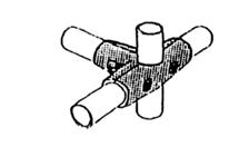 GS-Rohrverbindungssystem 25 mm