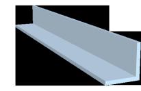 Winkel - eloxiert